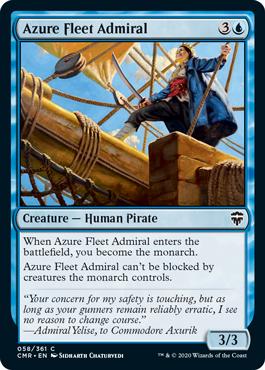 《蒼穹艦隊の提督/Azure Fleet Admiral》[CMR] 青C