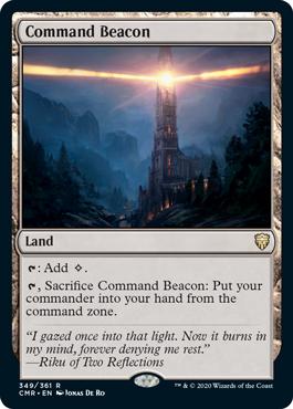 《統率の灯台/Command Beacon》[CMR] 土地R