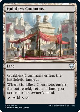《ギルド無しの公共地/Guildless Commons》[CMR] 土地U