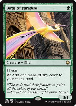 《極楽鳥/Birds of Paradise》[CN2] 緑R