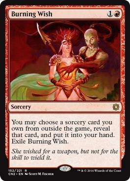 《燃え立つ願い/Burning Wish》[CN2] 赤R