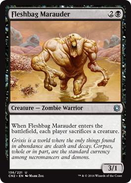 《肉袋の匪賊/Fleshbag Marauder》[CN2] 黒U