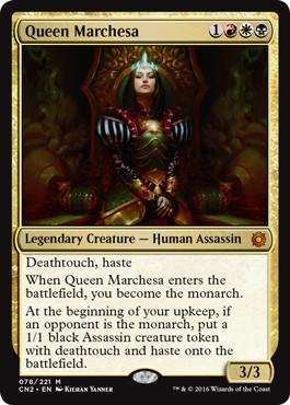 《マルチェッサ女王/Queen Marchesa》[CN2] 金R