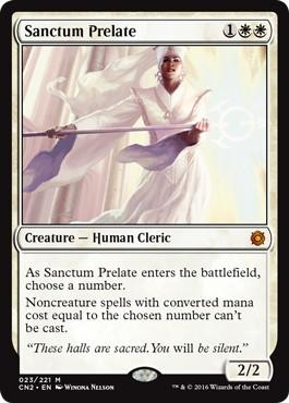 《聖域の僧院長/Sanctum Prelate》[CN2] 白R