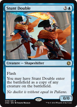 《替え玉/Stunt Double》[CN2] 青R