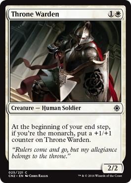 《玉座警備兵/Throne Warden》[CN2] 白C