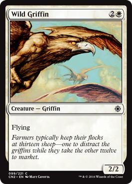 《野生のグリフィン/Wild Griffin》[CN2] 白C