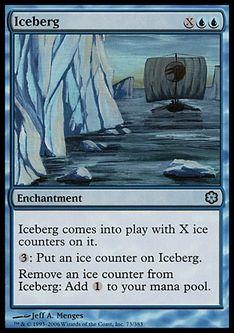 《氷山/Iceberg》[CSP構築済] 青