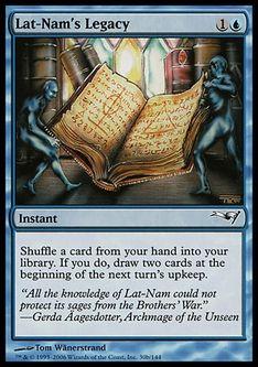 《ラト=ナムの遺産/Lat-Nam's Legacy》[CSP構築済] 青