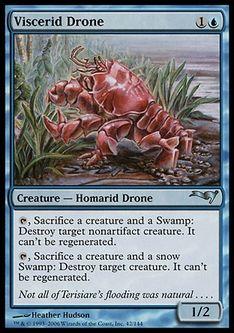 《ヴィセリッドの徒食者/Viscerid Drone》[CSP構築済] 青