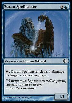 《ズアーの投呪士/Zuran Spellcaster》[CSP構築済] 青