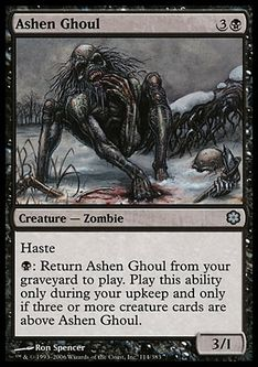 《灰燼のグール/Ashen Ghoul》[CSP構築済] 黒