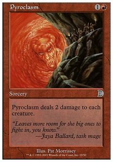 《紅蓮地獄/Pyroclasm》[DKM] 赤