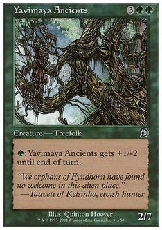 《Yavimaya Ancients》[DKM] 緑 A