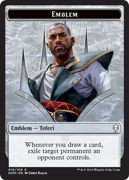 Emblem Teferi, Hero of Dominaria