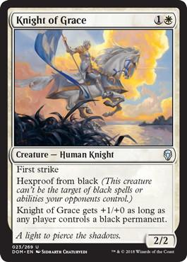 《善意の騎士/Knight of Grace》[DOM] 白U