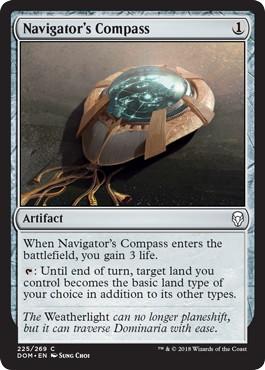 《航海士のコンパス/Navigator's Compass》[DOM] 茶C