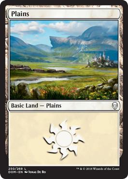 《平地/Plains》[DOM] 土地 (250)