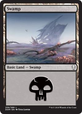 《沼/Swamp》[DOM] 土地 (259)