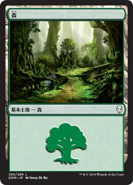 《森/Forest》[DOM] 土地 (266)