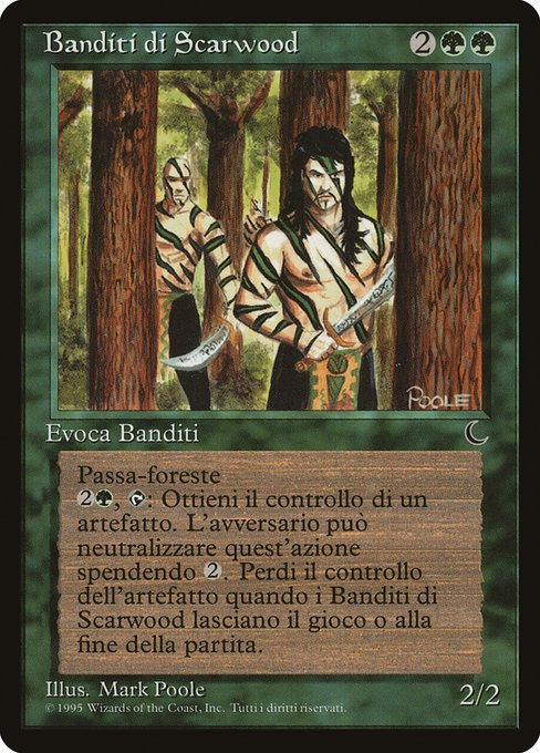 《Scarwood Bandits》[DRK] 緑R