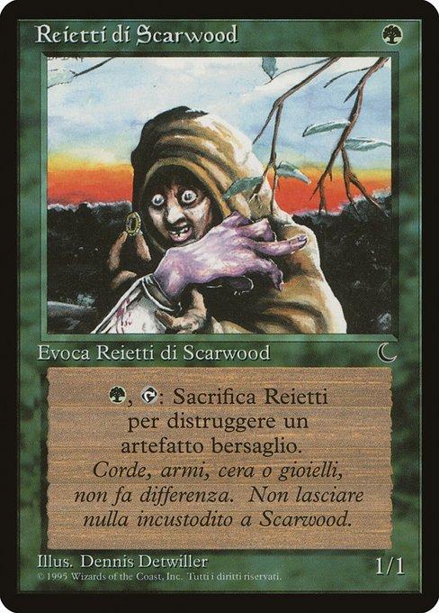 《ゴミあさり/Scavenger Folk》[DRK] 緑C