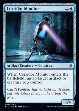 《通路の監視者/Corridor Monitor》[ELD] 青C