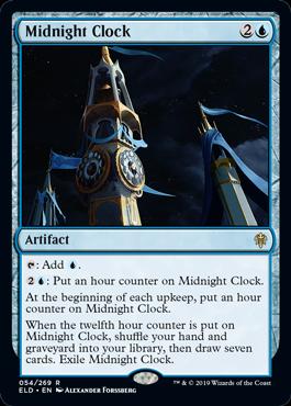 《真夜中の時計/Midnight Clock》[ELD] 青R