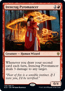 《アイレンクラッグの紅蓮術師/Irencrag Pyromancer》[ELD] 赤R