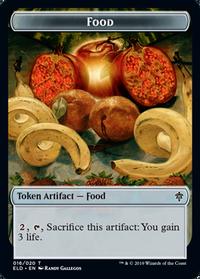 Food Token(016)