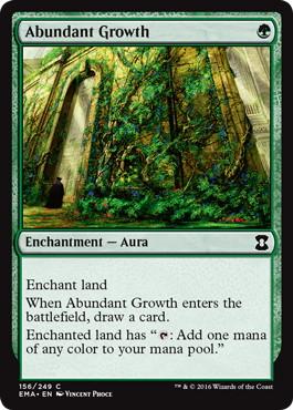 《豊かな成長/Abundant Growth》[EMA] 緑C