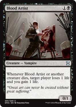 《血の芸術家/Blood Artist》[EMA] 黒U