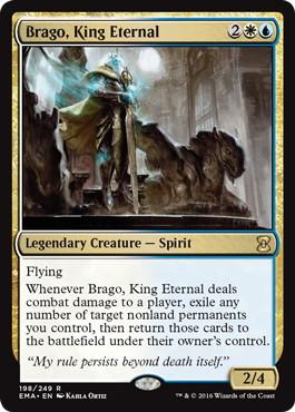 《永遠王、ブレイゴ/Brago, King Eternal》[EMA] 金R