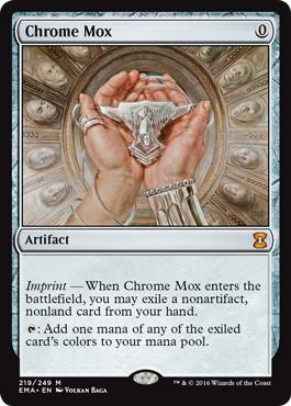 《金属モックス/Chrome Mox》[EMA] 茶R