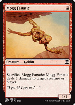 《モグの狂信者/Mogg Fanatic》[EMA] 赤C