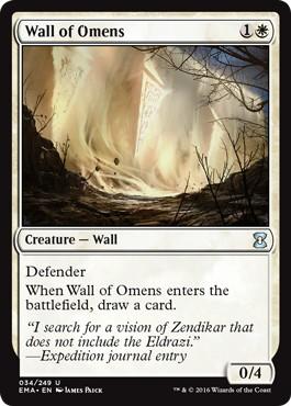 《前兆の壁/Wall of Omens》[EMA] 白U