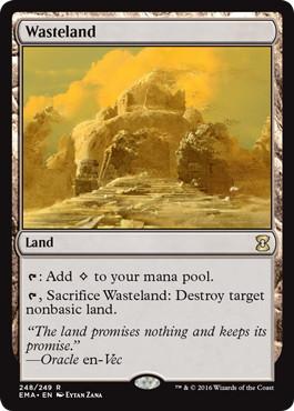 《不毛の大地/Wasteland》[EMA] 土地R