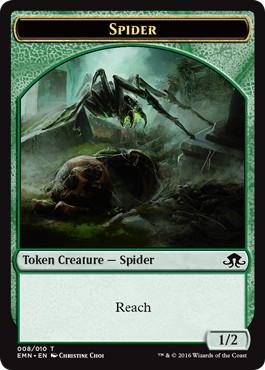 《蜘蛛トークン》[EMN] 緑