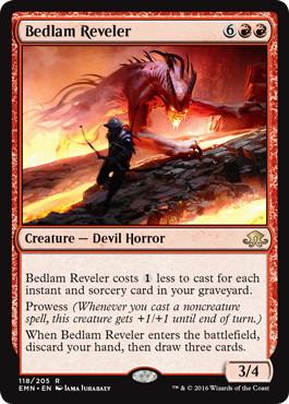 《騒乱の歓楽者/Bedlam Reveler》[EMN] 赤R