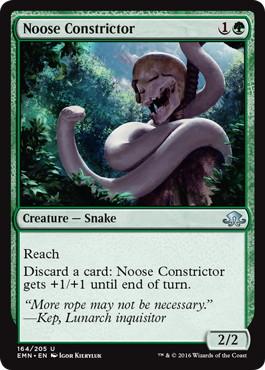 《首絞め/Noose Constrictor》[EMN] 緑U