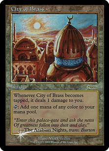 【Foil】《真鍮の都/City of Brass》土地JSS[その他イベント記念系] 土地