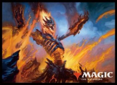 MTGS-068 エンスカイ プレイヤーズカードスリーブ 《大爆発の魔道士/Fulminator Mage》 80枚入り