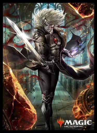 MTGS-096 エンスカイ プレイヤーズカードスリーブ  《復讐に燃えた血王、ソリン》 80枚入り