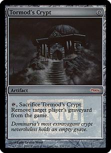 《トーモッドの墓所/Tormod's Crypt》[FNM] 茶