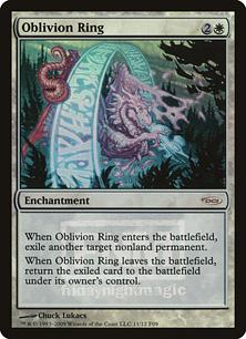 《忘却の輪/Oblivion Ring》[FNM] 白