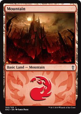 《山/Mountain》(105)[GK2-RG] 土地