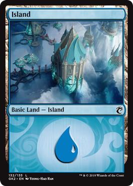 《島/Island》(132)[GK2-UG] 土地
