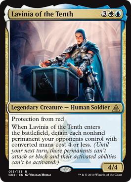 《第10管区のラヴィニア/Lavinia of the Tenth》[GK2-WU] 金R