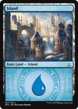 《島/Island》(027)[GK2-WU] 土地