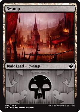 《沼/Swamp》(078)[GK2-BR] 土地